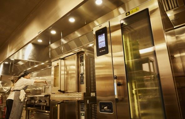 Combi image in kitchen