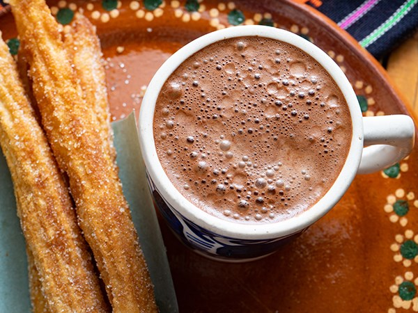 Mexican Hot Chocolate and Churros Recipe