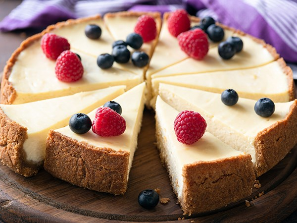 Classic Cheesecake with Fresh Fruit Recipe