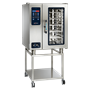 CTC10-10 Combitherm Combi Oven on stand with door closed