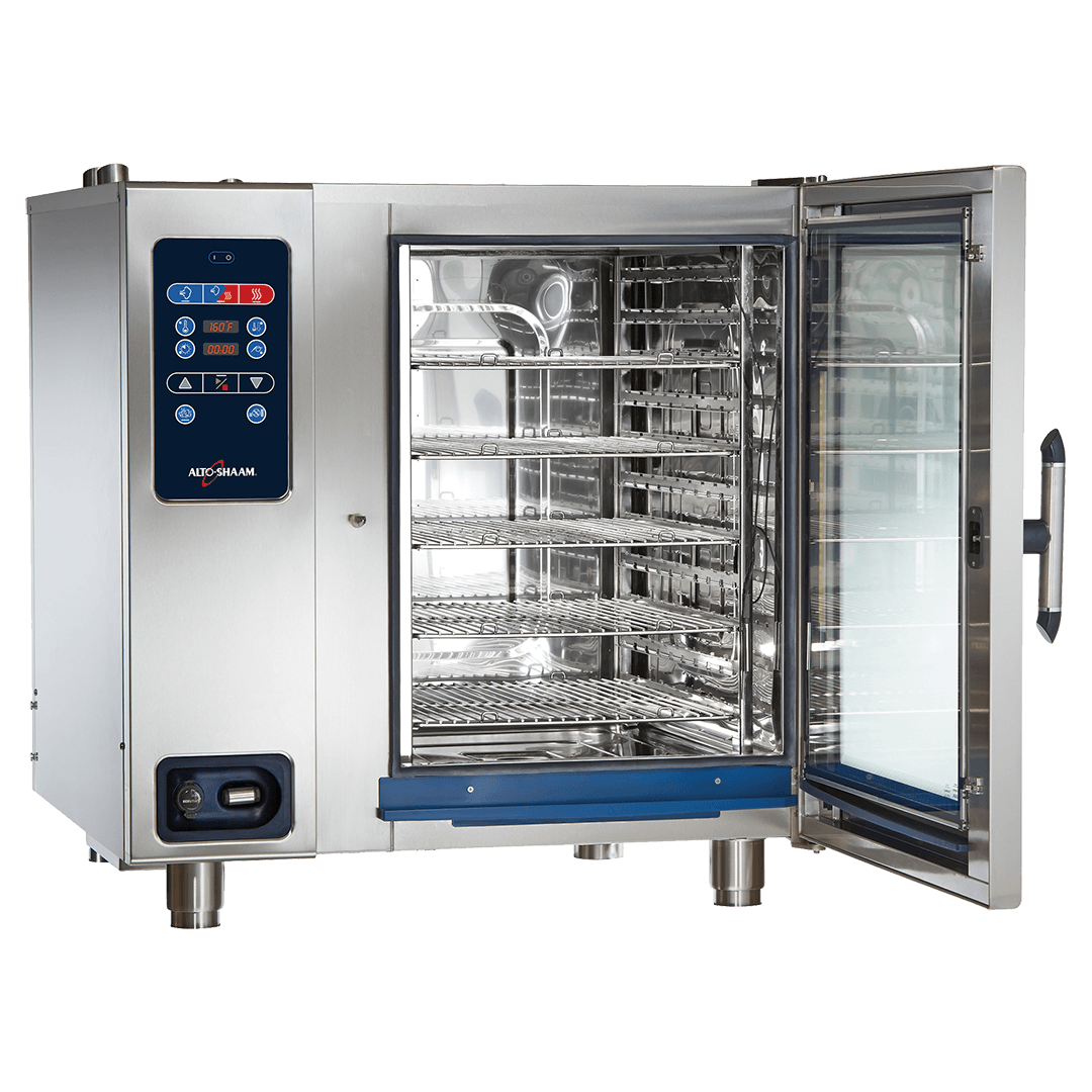 CTC10-20 Combitherm Combi Oven with door open