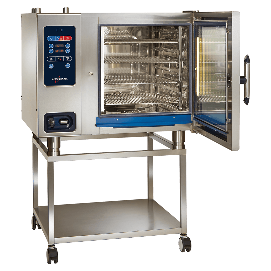 CTC7-20 Combitherm Combi Oven on stand with door open