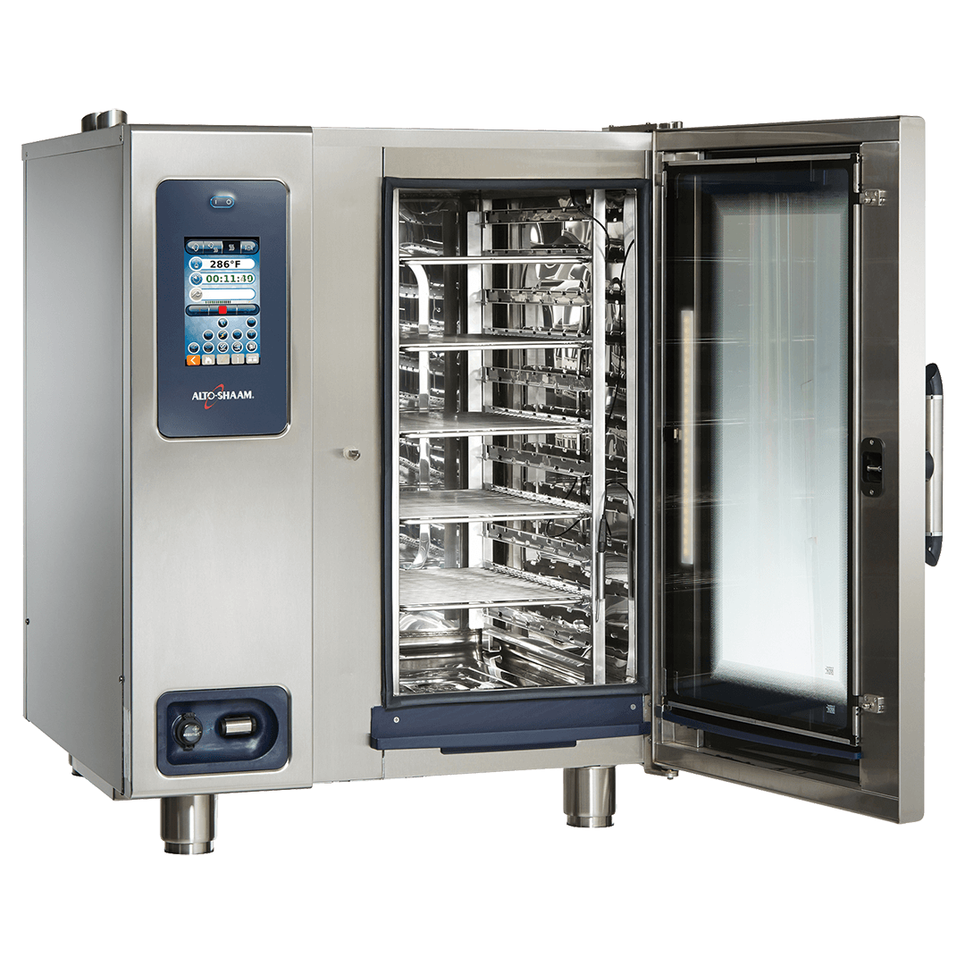CTP10-10 Combitherm Combi Oven with door open