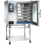 CTP10-20 Combitherm Combi Oven with door open on stand
