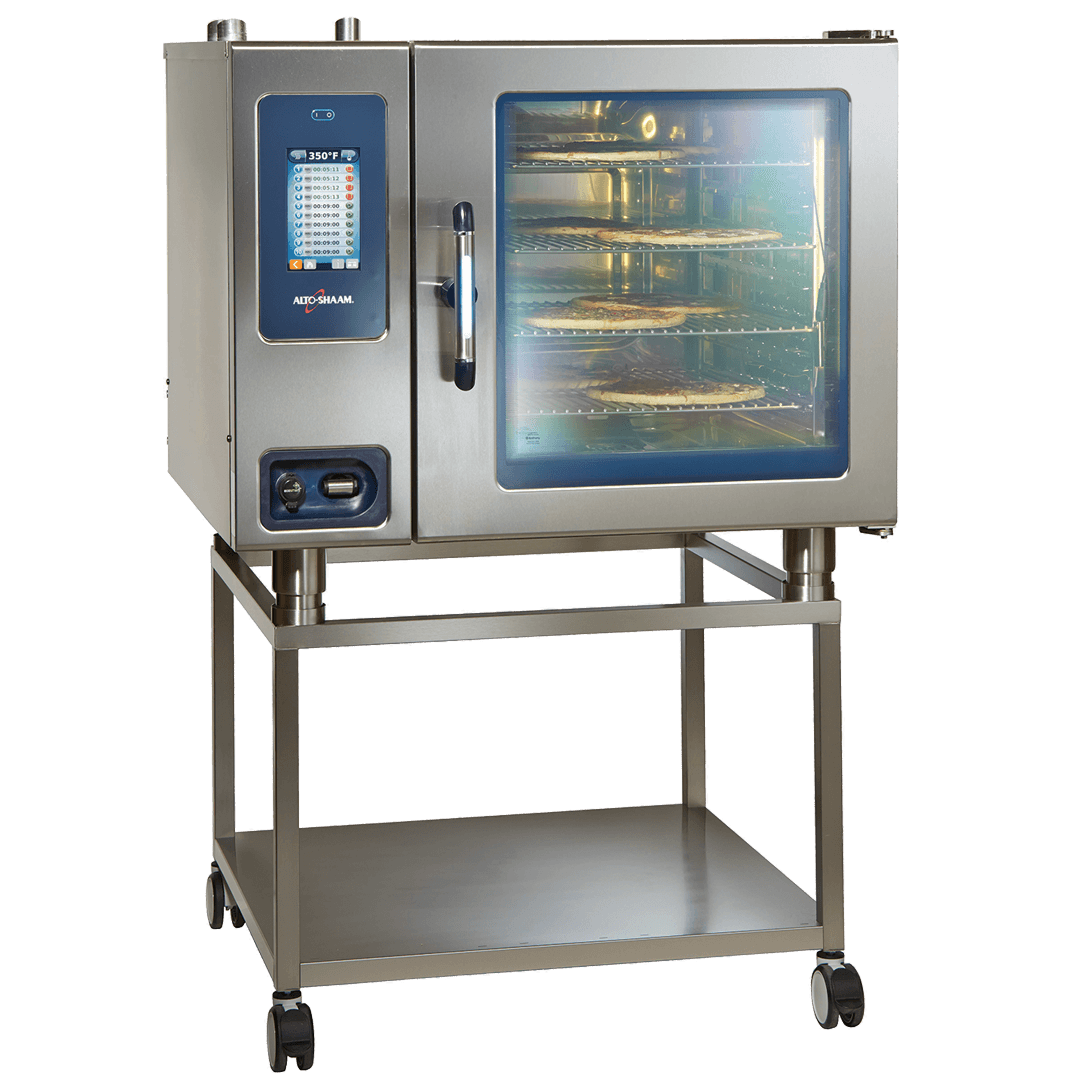 CTP7-20 Combitherm Combi Oven with food on stand