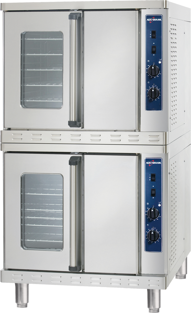ASC-4E Convection Oven Two Ovens Stacked
