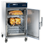 1000-TH/III Cook & Hold Oven with Deluxe Controls with ribs and rotisserie chicken