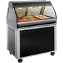 EU2SYS-48 Series Heated Display System Full with Food