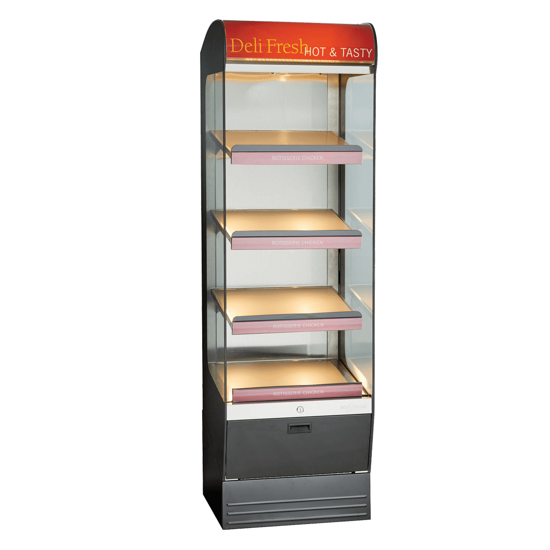 HSM-24-4S Heated Shelf Merchandiser Empty