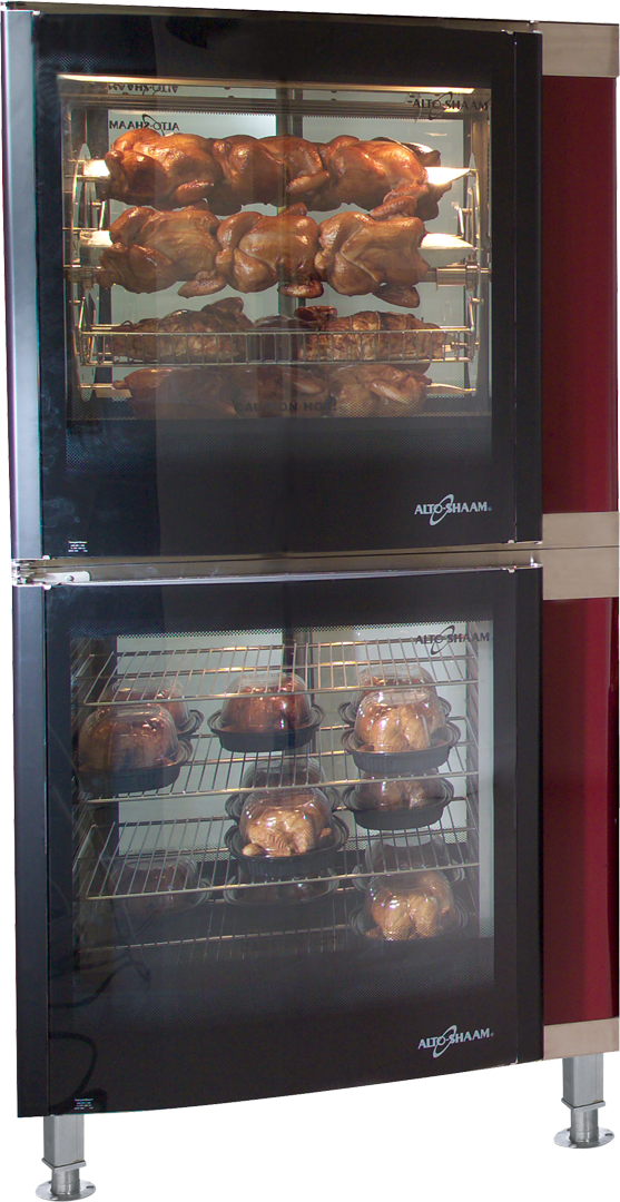 AR-7E Electric Countertop Rotisserie Double Doors