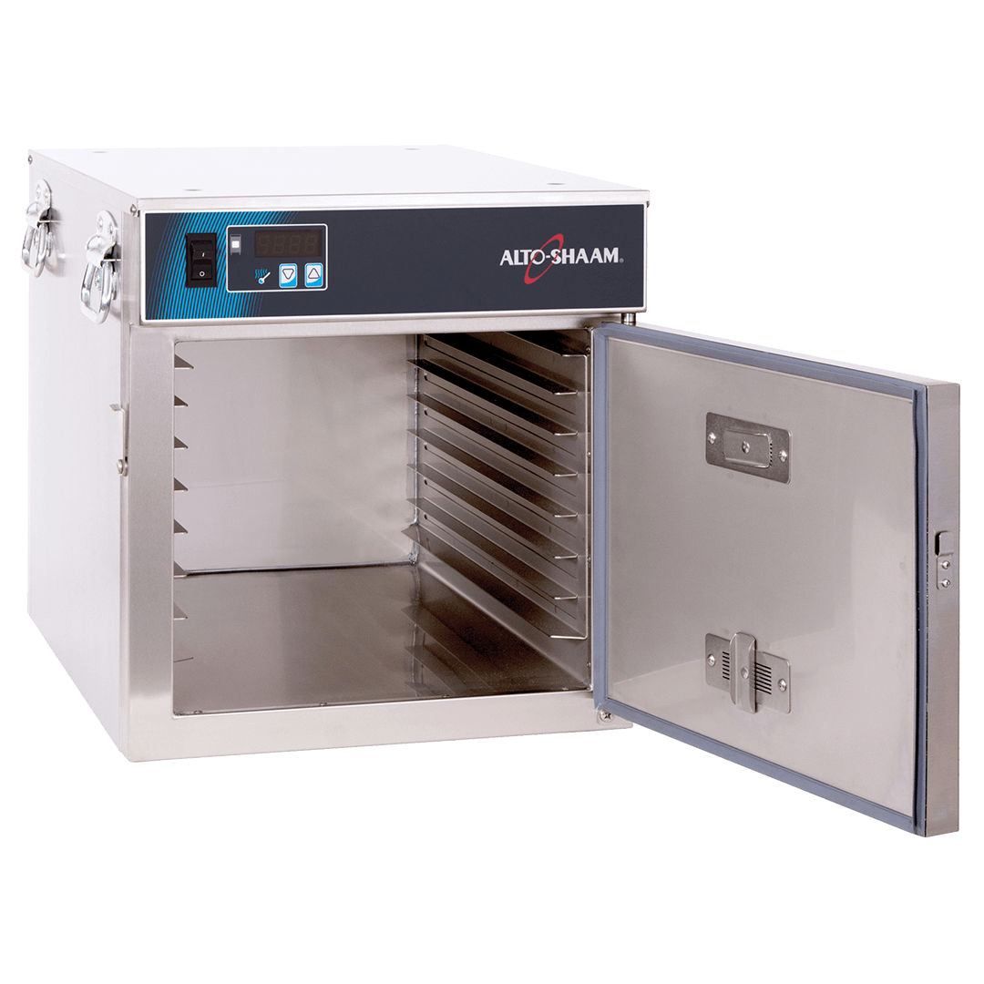 300-S Halo Heat Low Temp Holding Cabinet with door open