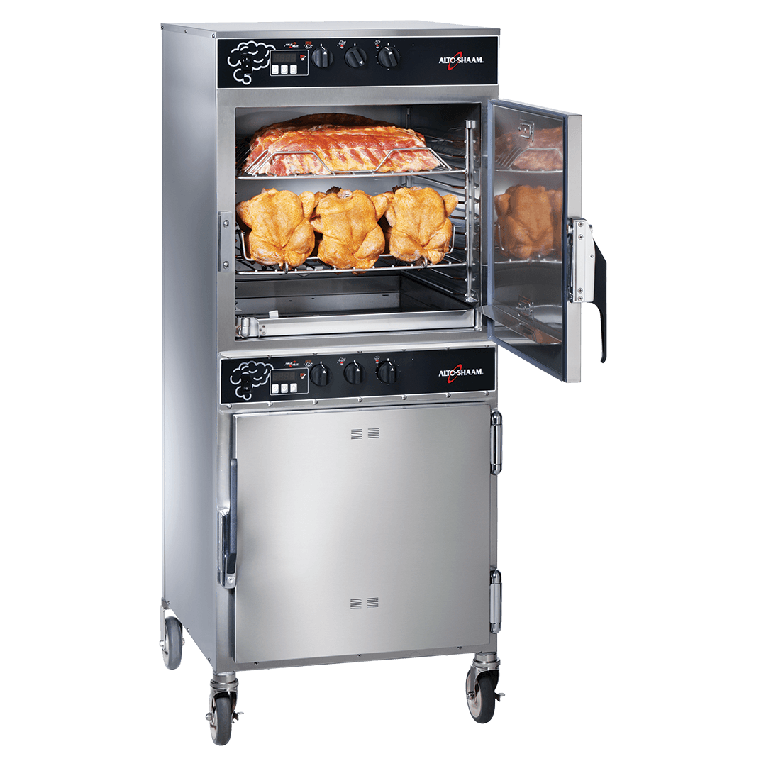 1767-SK Cook & Hold Smoker Oven Smoking Chicken and Ribs