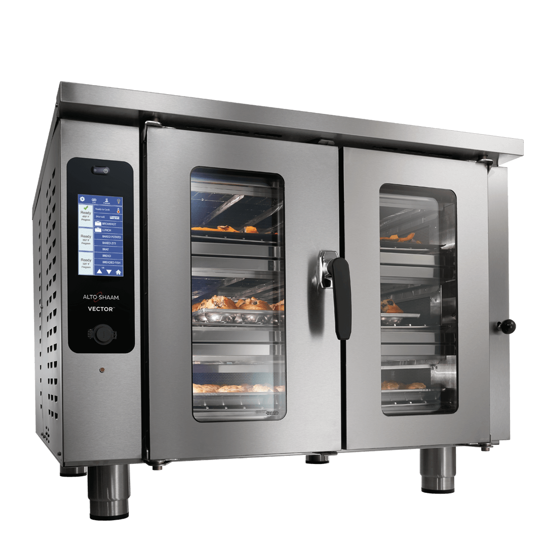 Vector F3 Multi-Cook Oven with food