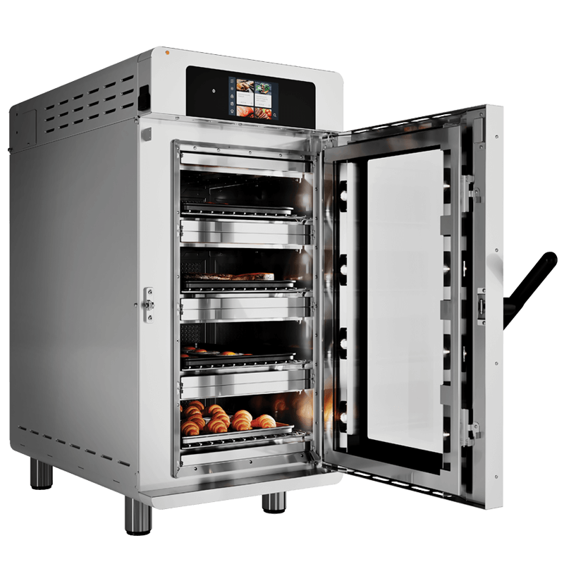 Vector H4H Multi-Cook Oven door open